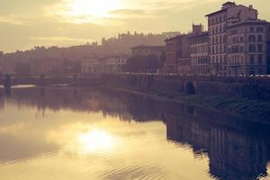 Arno bank morning yellow