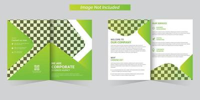 conjunto de plantillas de folleto de negocios corporativos vector