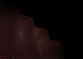 gloeiende stippen techno abstracte achtergrond