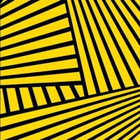 Yellow Abstract Lines Background vector