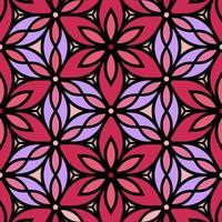 fundo floral decorativo rosa e roxo