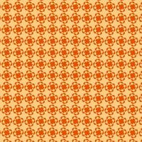 patrón de forma geométrica naranja