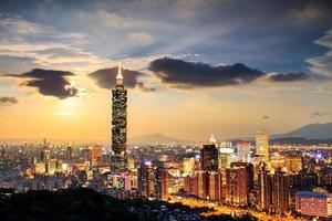 Full view of Taipei city