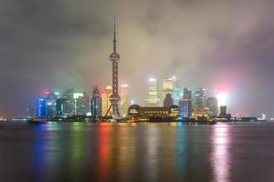 skyline of shanghai photo