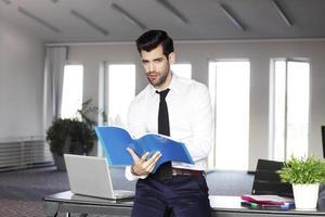 Casual sales assistant portrait