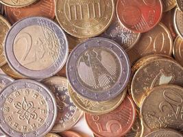 Euro coin photo