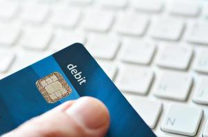 Internet purchase  and online shopping photo
