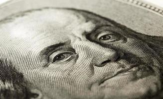 portrait of a hundred dollars