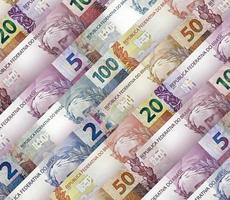 Brazilian real Bills Background photo