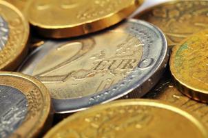 moneda de dos euros foto