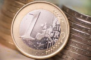 monedas de euro foto