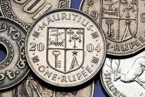 Coins of Mauritius photo