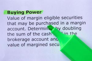 Buying Power photo