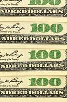many dollar bills photo