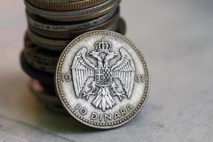 Old Yugoslavian  coin photo
