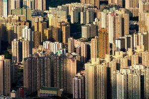 Cityscape of Hong Kong photo