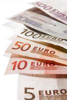 Billetes de euro photo