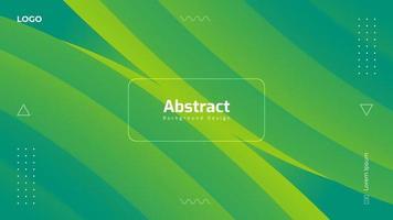 Abstract Gradient Fluid Background Design vector