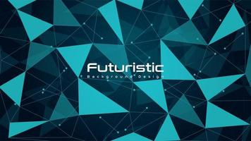 Modern Futuristic Technology Background vector