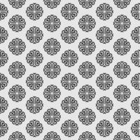 Mandala style seamless pattern