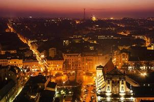Night Lviv photo