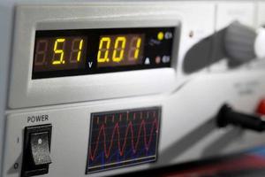 instrumentos de medida electrónicos foto