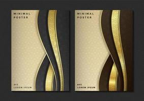 Minimal abstract poster set