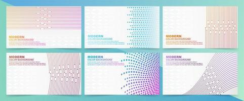 Abstract background with gradient colors vector