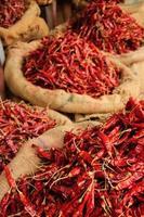 zakken met chili