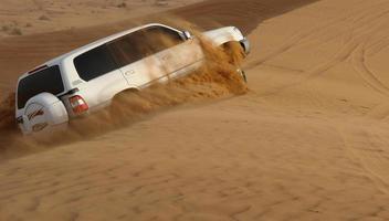 aventura de safari por el desierto foto