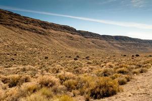 butte alto do deserto