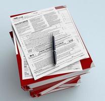 Usa taxes photo