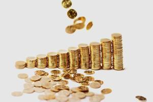 Rain from Golden Coins