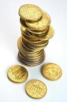 moneda europea foto