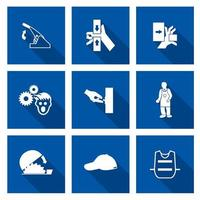 Required Personal Protective Equipment vector