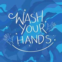 Wash your hands Background