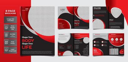 A4 Page Easy to edit vector