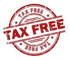 selo isento de impostos