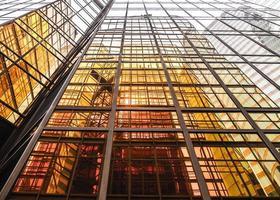 golden commercial building