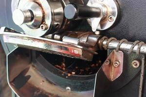 Coffee roasting machine photo