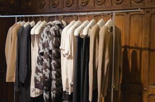 Women clothing store photo