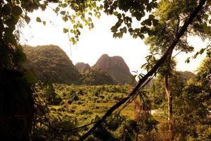 asie lao tha khaek bouddha grotte