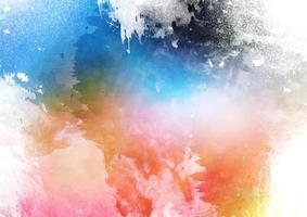 Detailed colorful watercolor texture