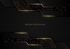 Abstract Luxury Dark Tech Glittery Background
