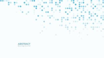 Blue and white dynamic halftoned dotted texture vector