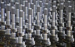 Machine Gears - Stock Image photo