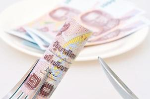 High price of food concept photo