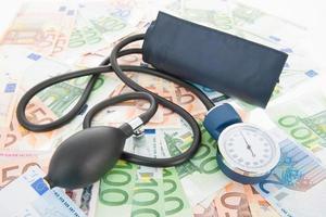 Blood pressure meter photo