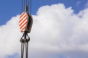 Rigging Crane Hook Cables