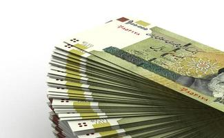 Stack of Iranian Rial photo